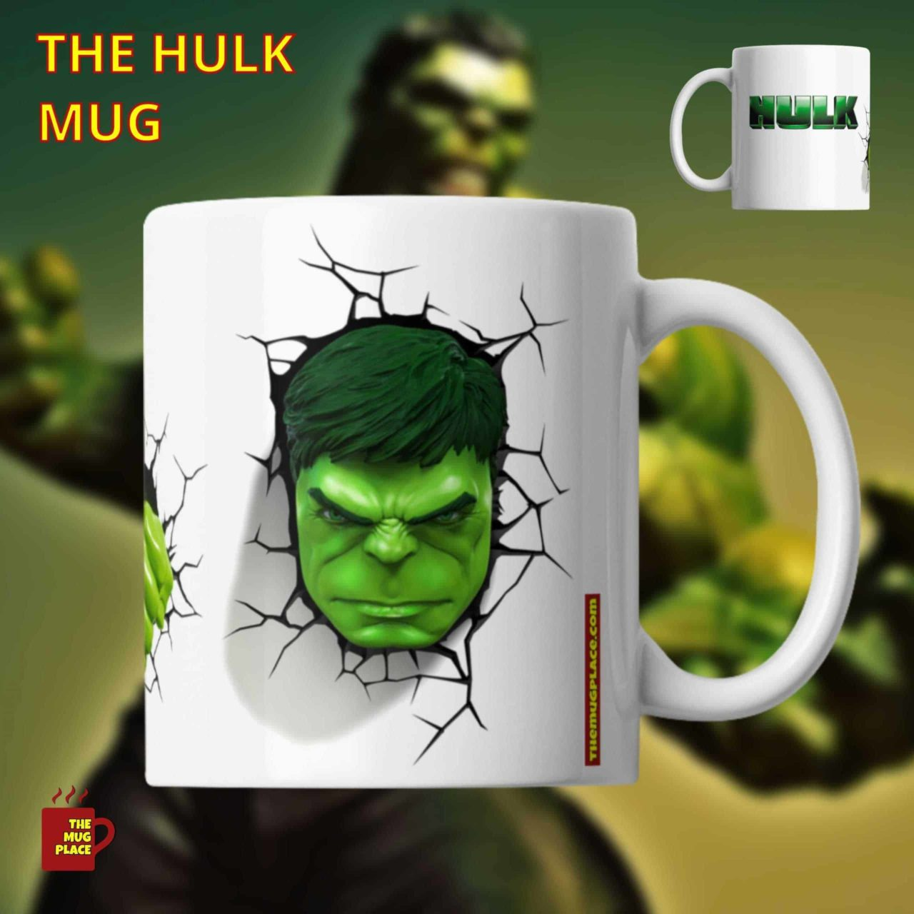 The Hulk Mug