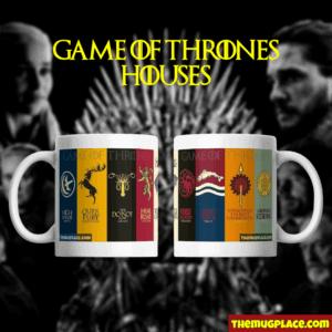 Game of Thrones Mug 9 Houses