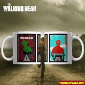 The Walking Dead Mug Rick, Daryl and the Governor