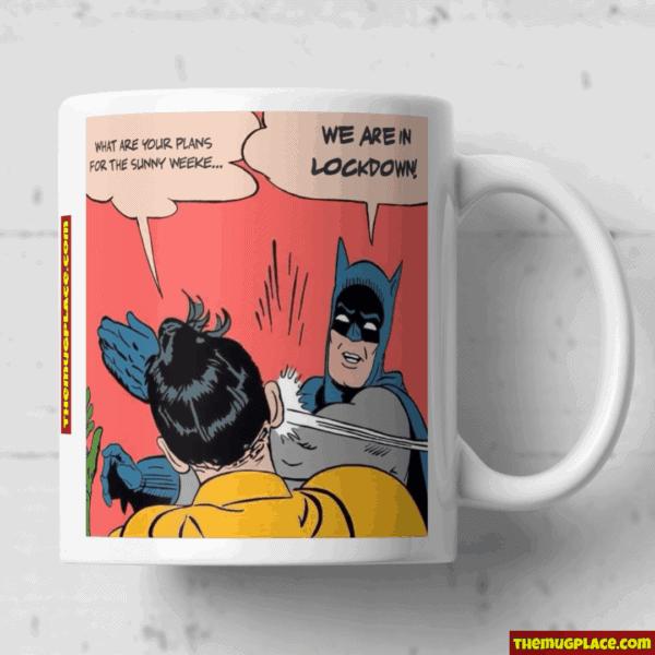 Batman and Robin smack