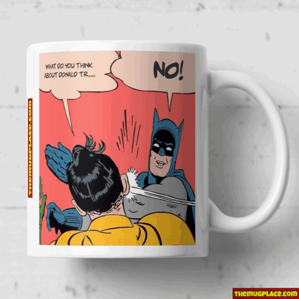 Robin get a slap mub