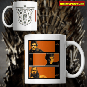 Game of Thrones mug. The good, the bad and the ugly
