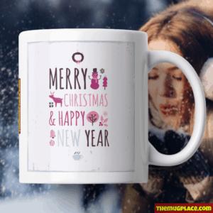 Girly Christmas Mug