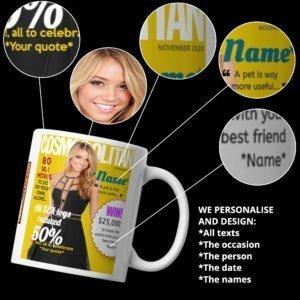 Personalised Fashion Mug