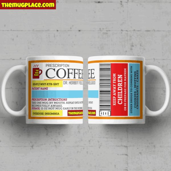 Coffee Custom Label Mug