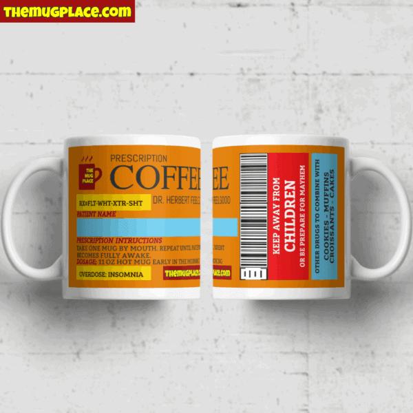 Coffee Label Mug
