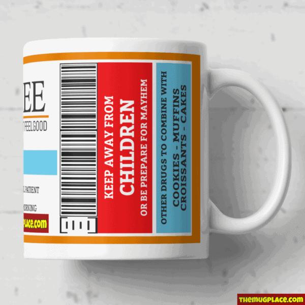 Tea Label Mug