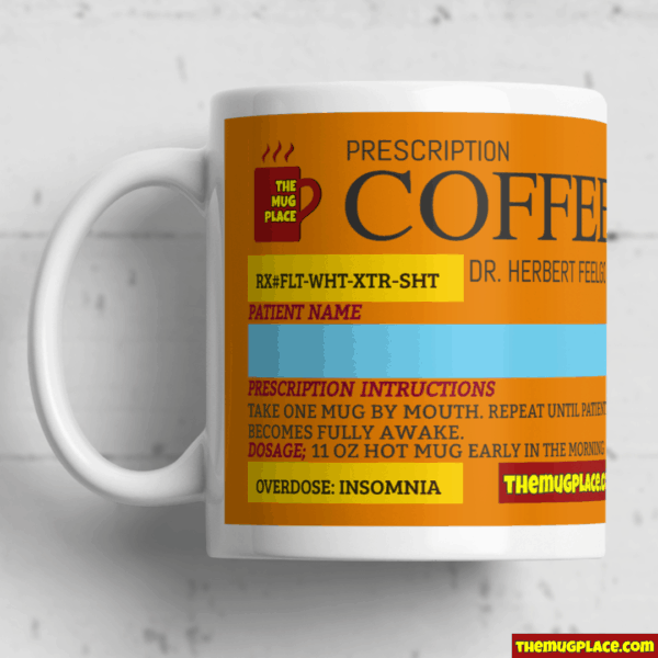 Coffee Label Personalised