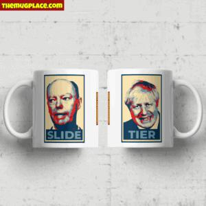 Chris Whitty & Boris Johnson Pop Art Mug