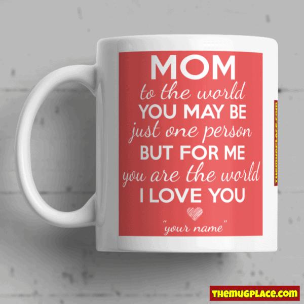 Mug for mum one child