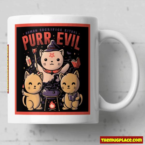Purr Evil Mug