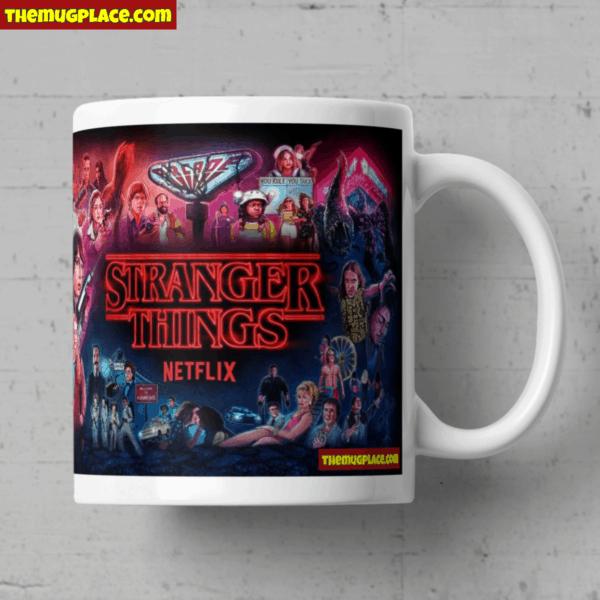 Stranger Things Poster Mug Right
