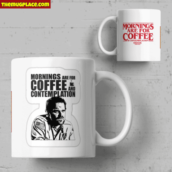 Monrnings are for coffee and contemplation mug